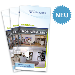 Broschure Sanitatshaus Frohnhauser 2015