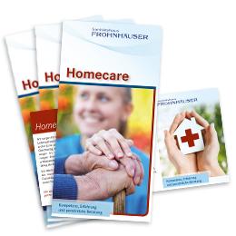 HomeCare Informationsflyer von Sanitätshaus Frohnhäuser zum download