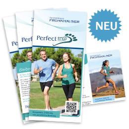 PerfectSTEP Informationsflyer von Sanitätshaus Frohnhäuser zum download